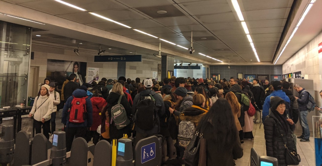 UPDATED: Severe delays on Canada Line due to medical emergency