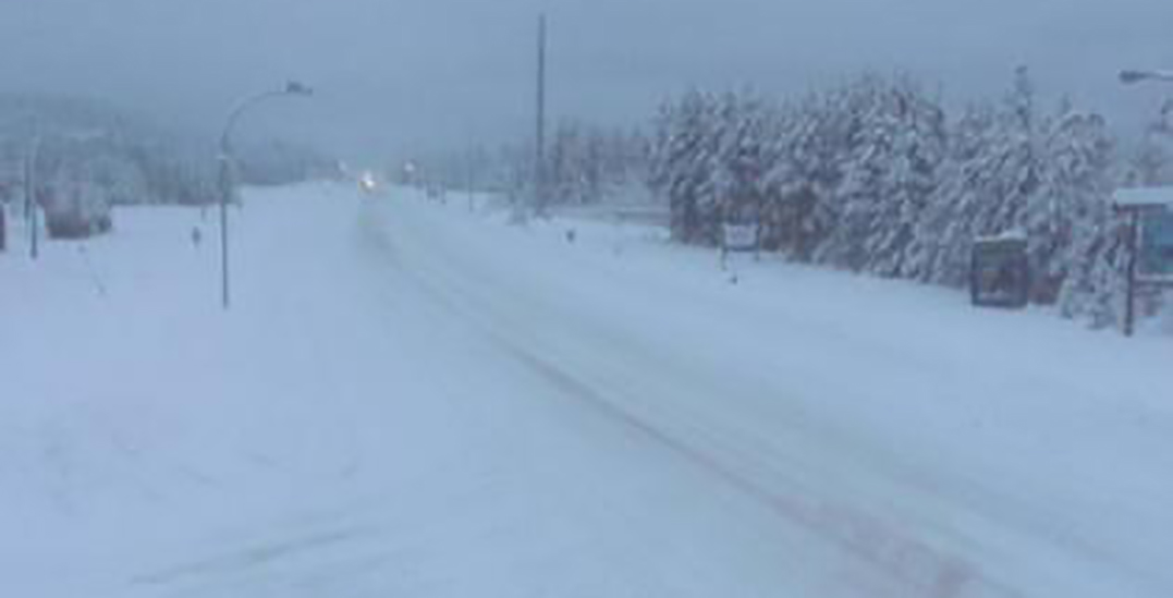 Closures in effect on major highways between BC Interior and Lower Mainland