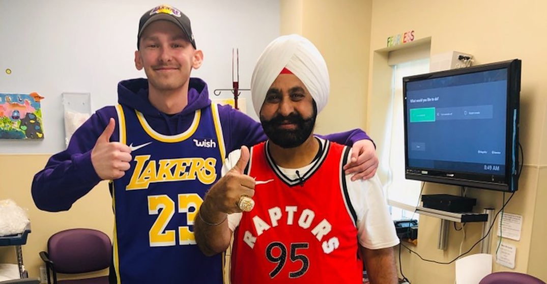 Canadian teen with cancer gets to meet LeBron James with help from Nav Bhatia