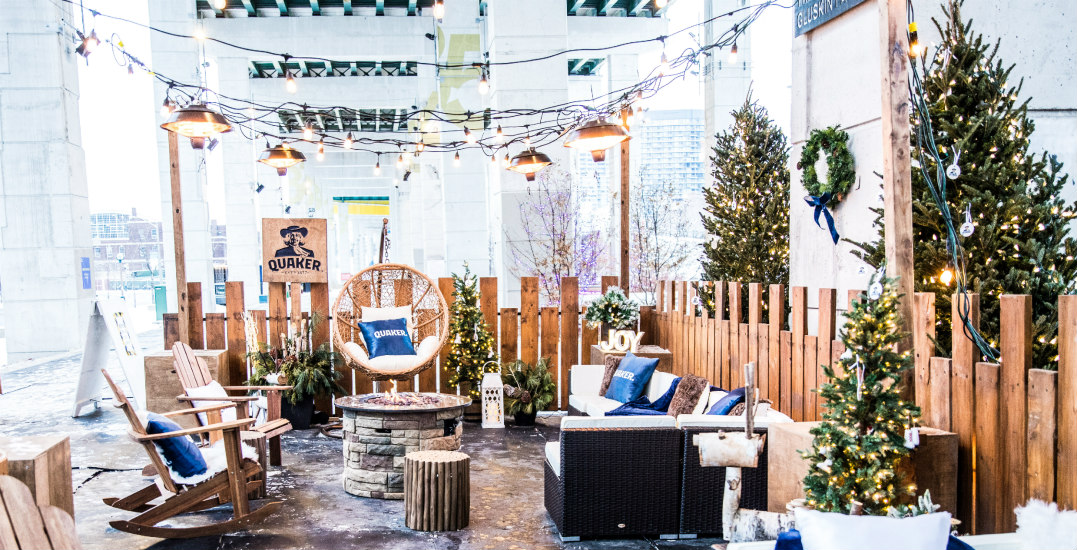 The Bentway Skate Trail is getting a cozy lounge with FREE baked goods