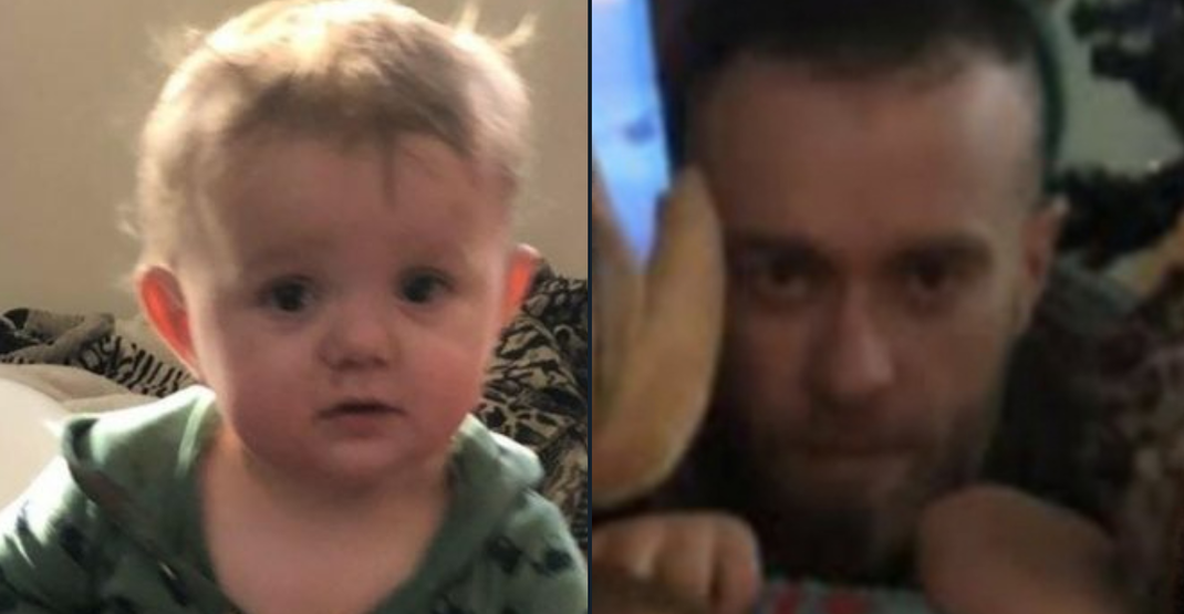 "UPDATE: Amber alert issued for 14 month-old, father believed to be ""armed and dangerous"""