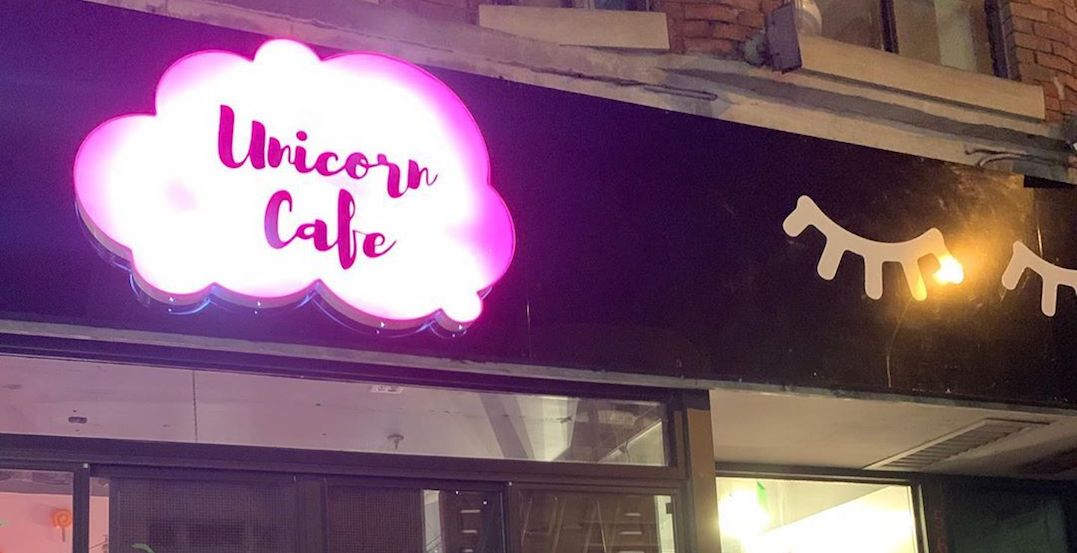A unicorn-themed cafe has officially opened in Toronto