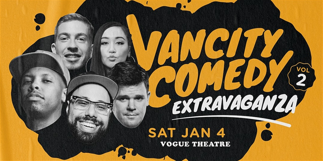 Laugh it up with Dino and friends at Vancity Comedy Extravaganza