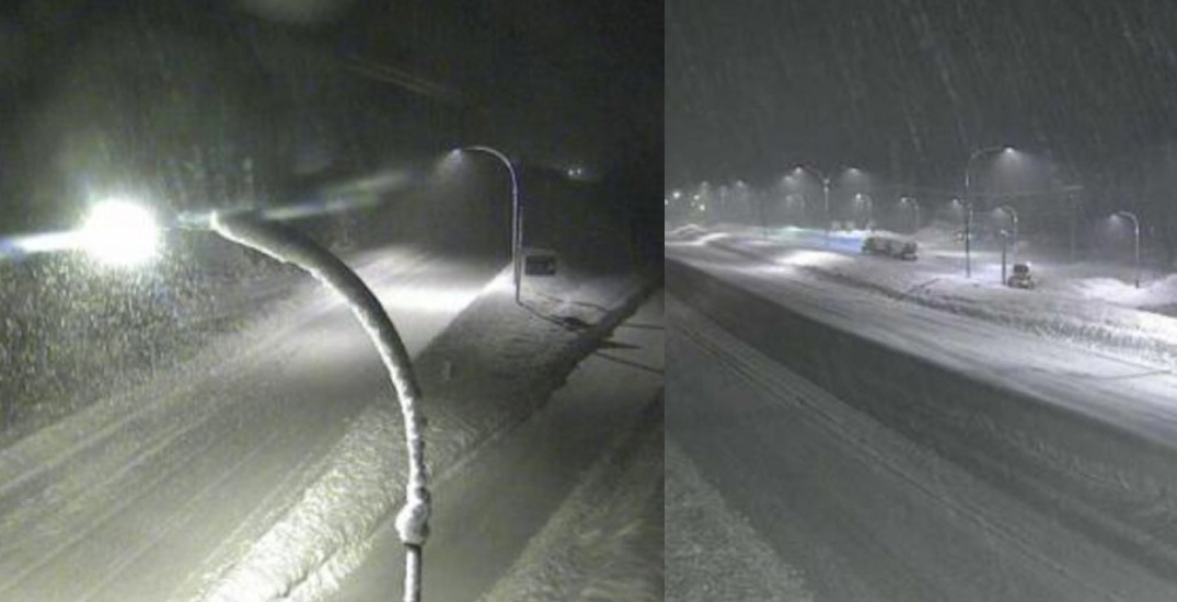 Drivers urged not to travel as wintry conditions continue on BC highways