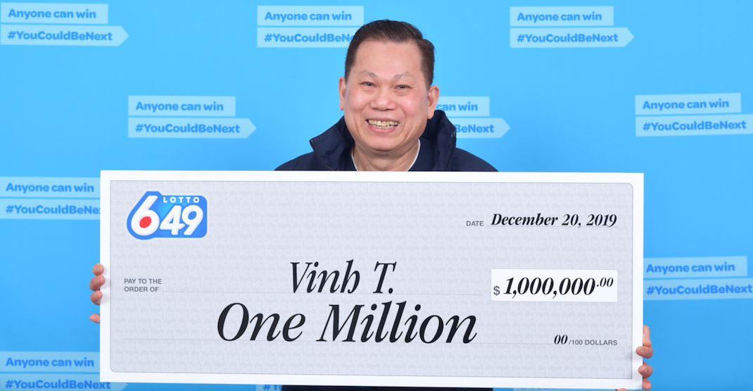 Metro Vancouver cook plans to open his own restaurant after $1M lotto win