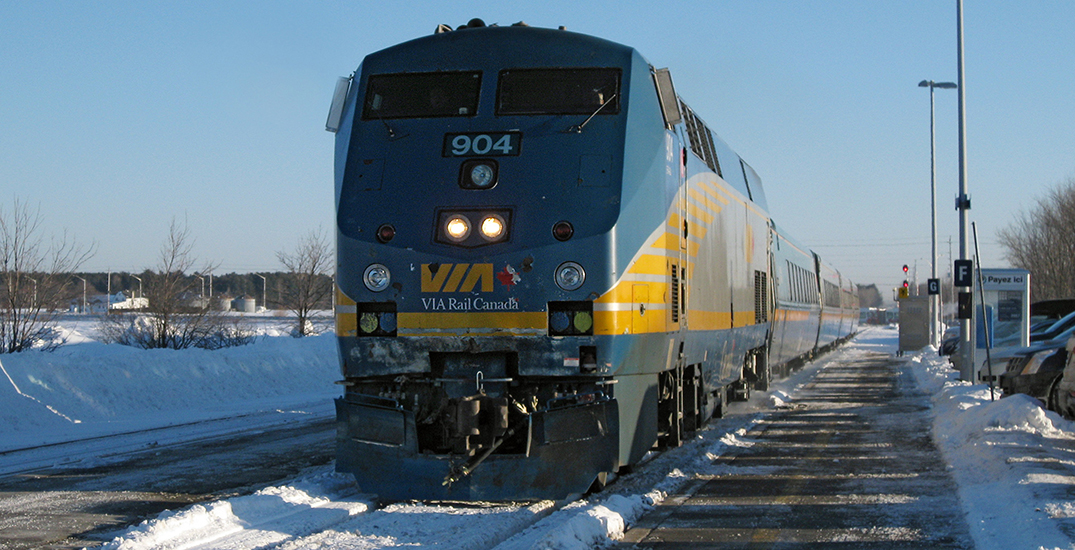 VIA Rail stops trains between Toronto and Montreal due to protest on tracks
