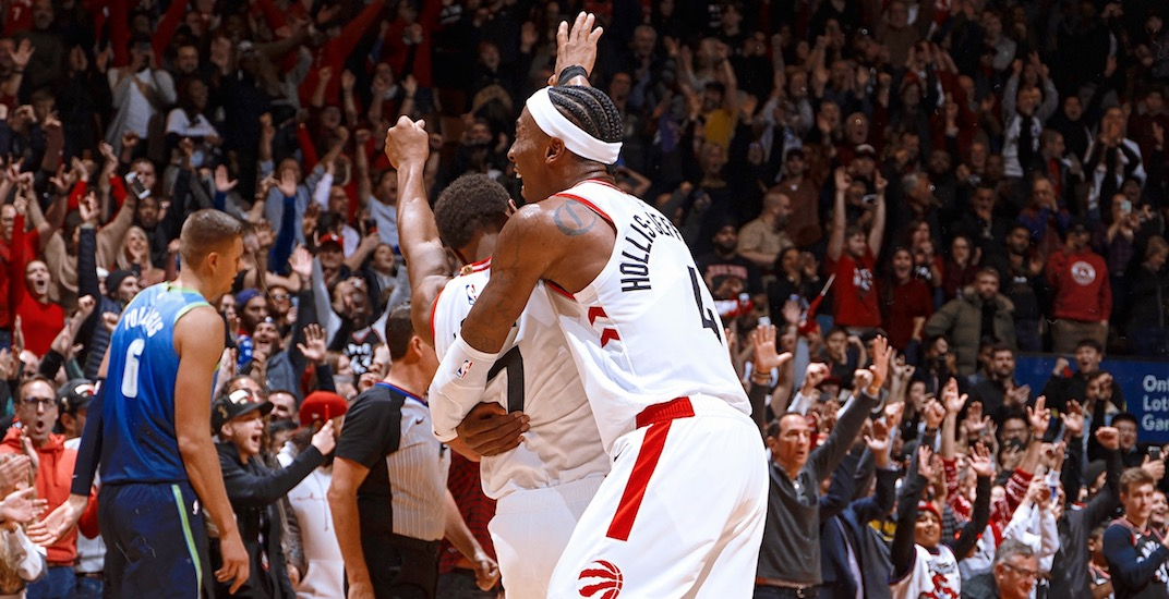 Raptors complete biggest comeback in franchise history