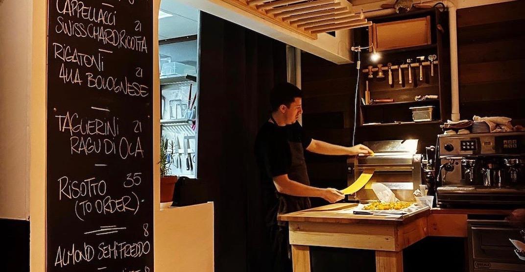 Oca Pastificio has opened its doors on Commercial Drive