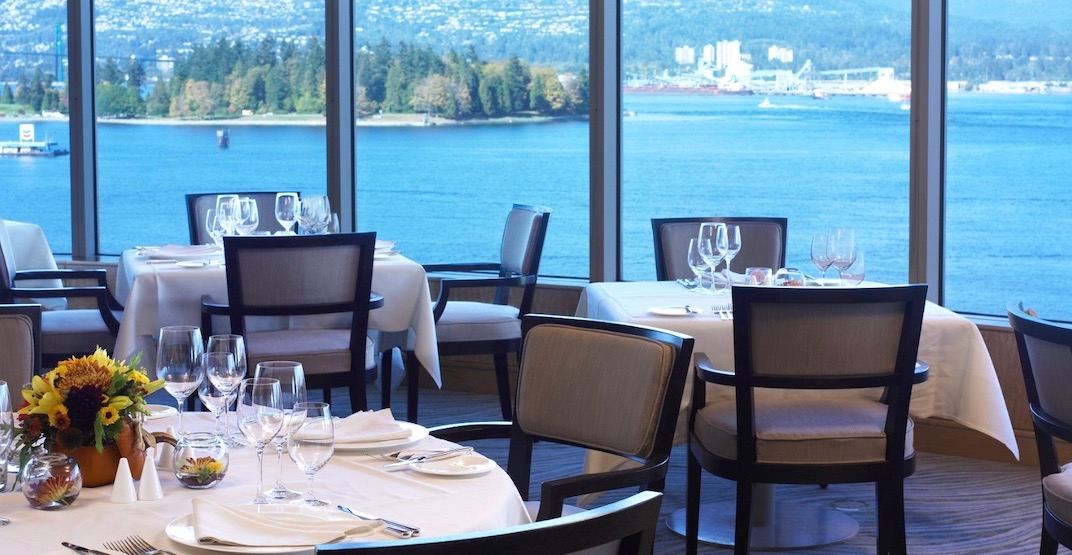 The Pan Pacific Vancouver's Five Sails Restaurant closing December 31