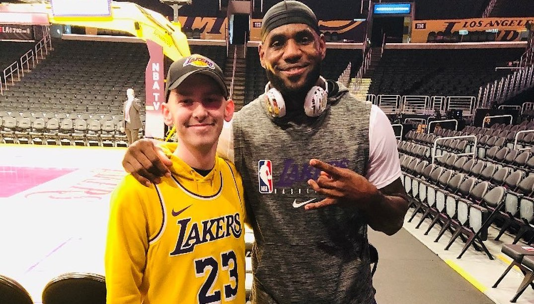 Canadian teen with cancer met LeBron James thanks to Superfan Nav Bhatia