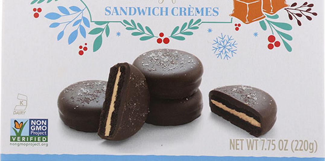 Chocolate sandwich crèmes recalled due to undeclared allergen: CFIA