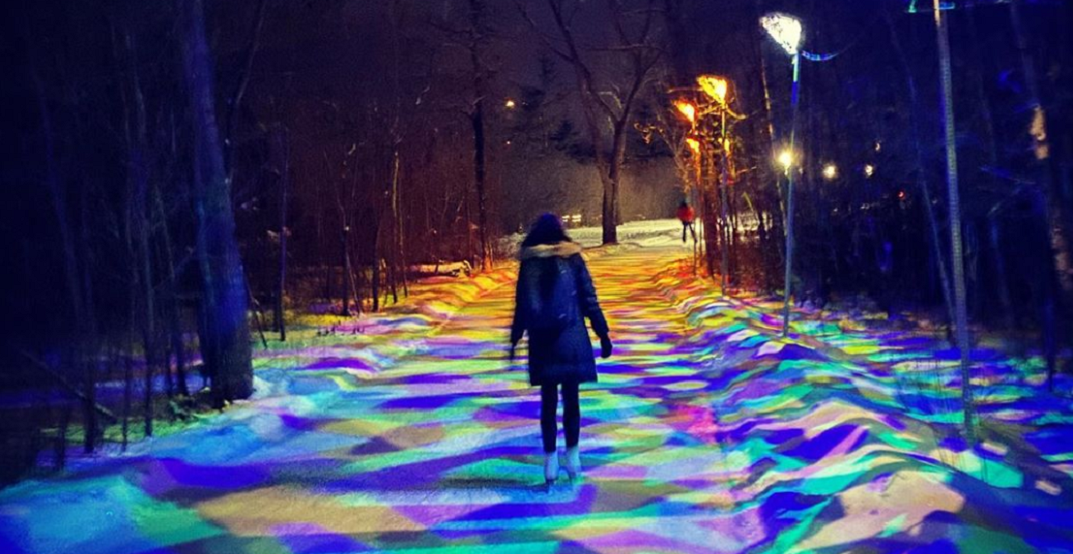 This Canadian skating trail is a magical sight (PHOTOS)
