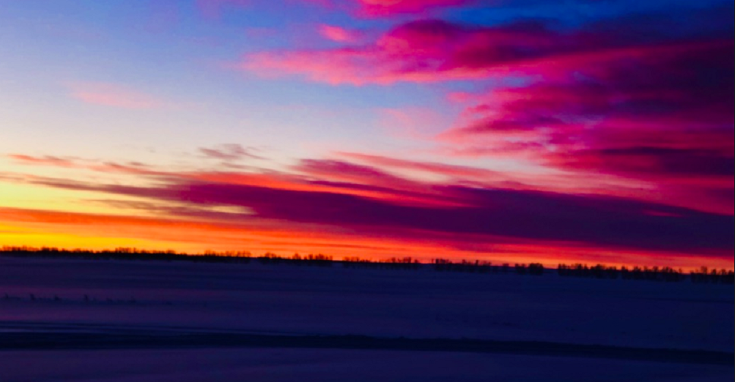 Calgary just saw an absolutely gorgeous sunrise (PHOTOS)
