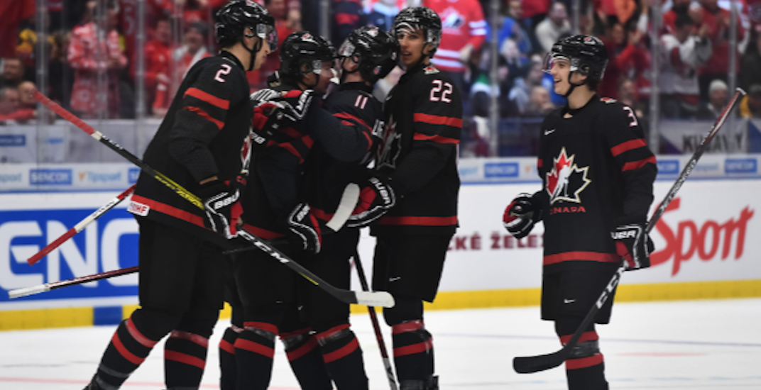 Canada blows out Slovakia to earn World Juniors semi-final berth