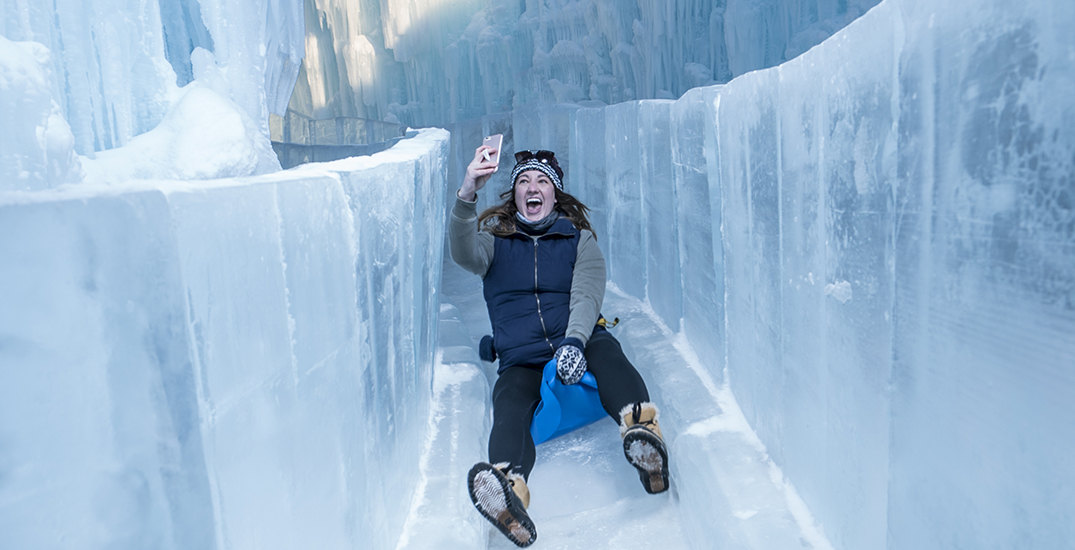 Edmonton's magical winter Ice Castles open this week