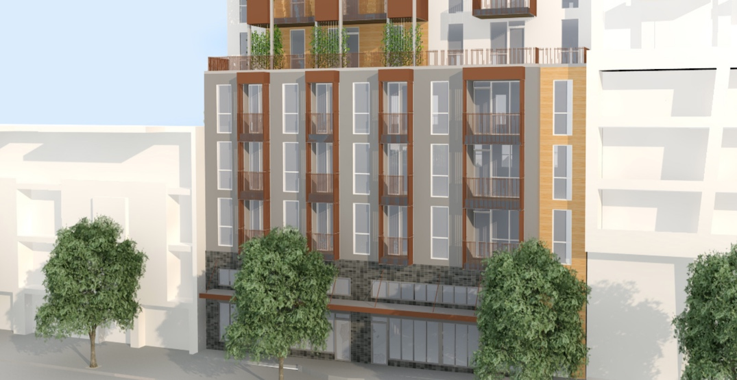 New 6-storey rental building proposed for Kingsway in Vancouver