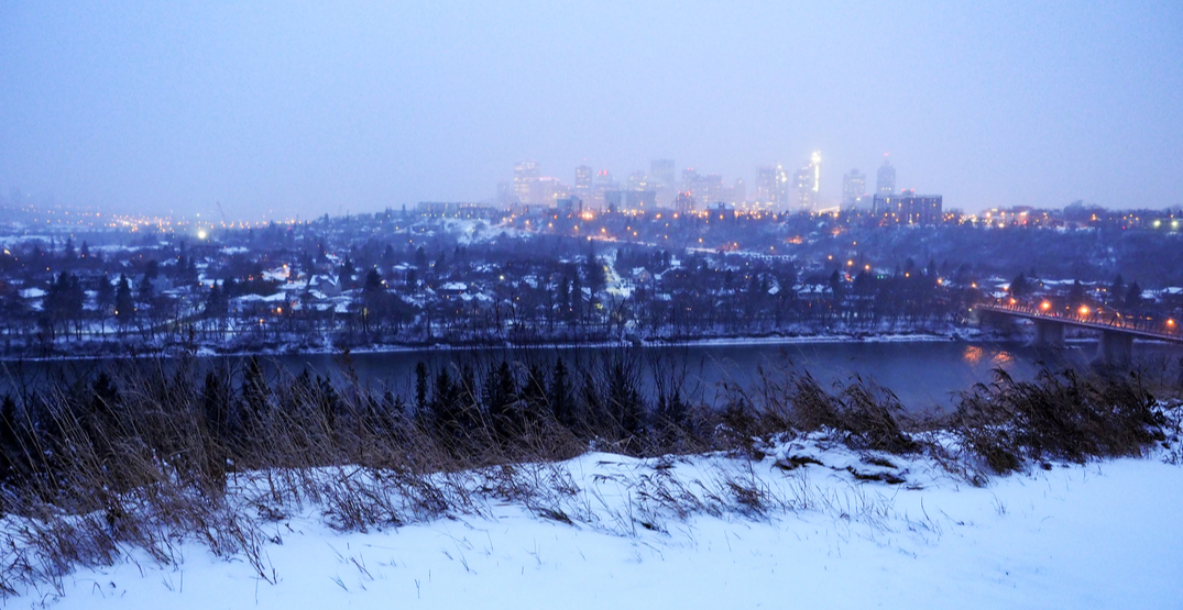 It's going to feel like -50°C in parts of Edmonton this week