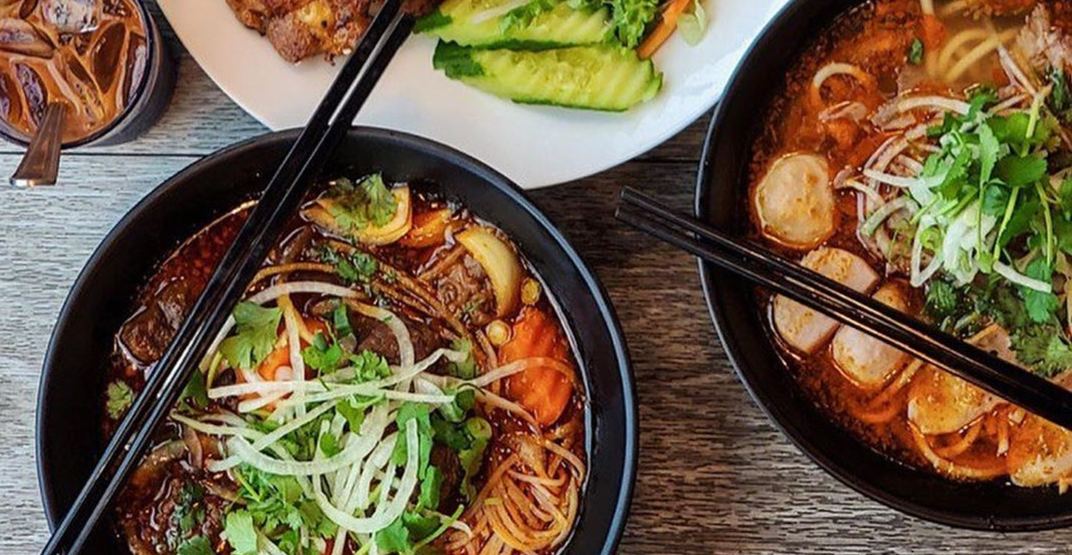 Pho Kitchen is giving out 250 FREE bowls in Vancouver January 5