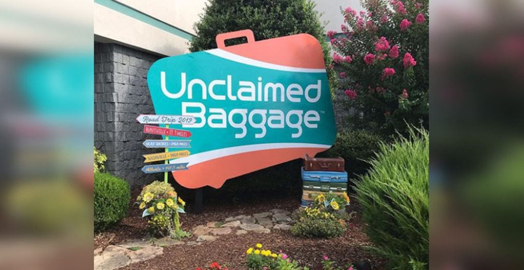 People can buy your lost luggage at this store in Alabama
