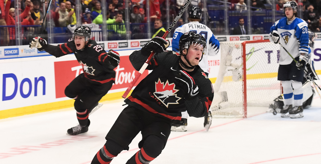 Blowout win sends Canada to the World Juniors gold medal game