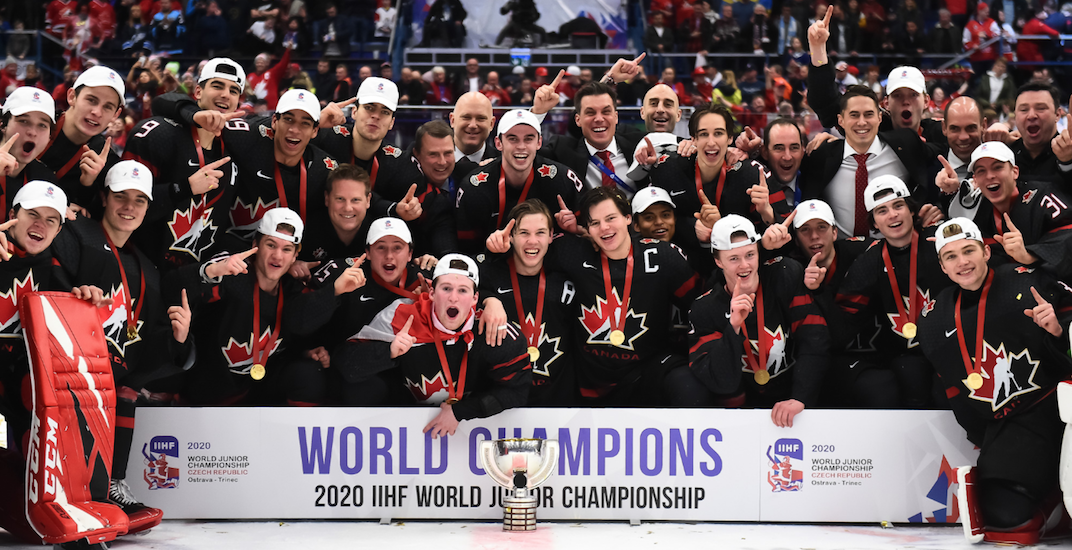 Canada wins gold at World Juniors in wild comeback vs Russia