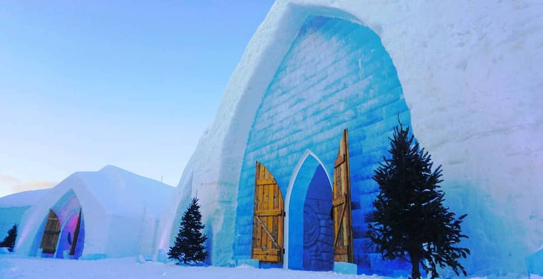 You can stay at this ice hotel in Quebec City all winter (PHOTOS)