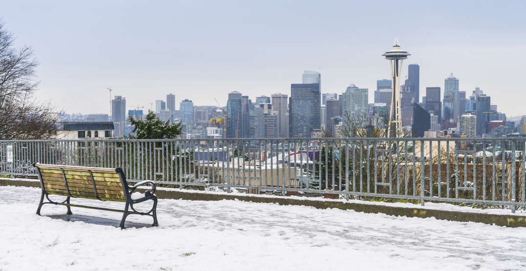 There's a high chance that we'll be seeing snow in Seattle this weekend