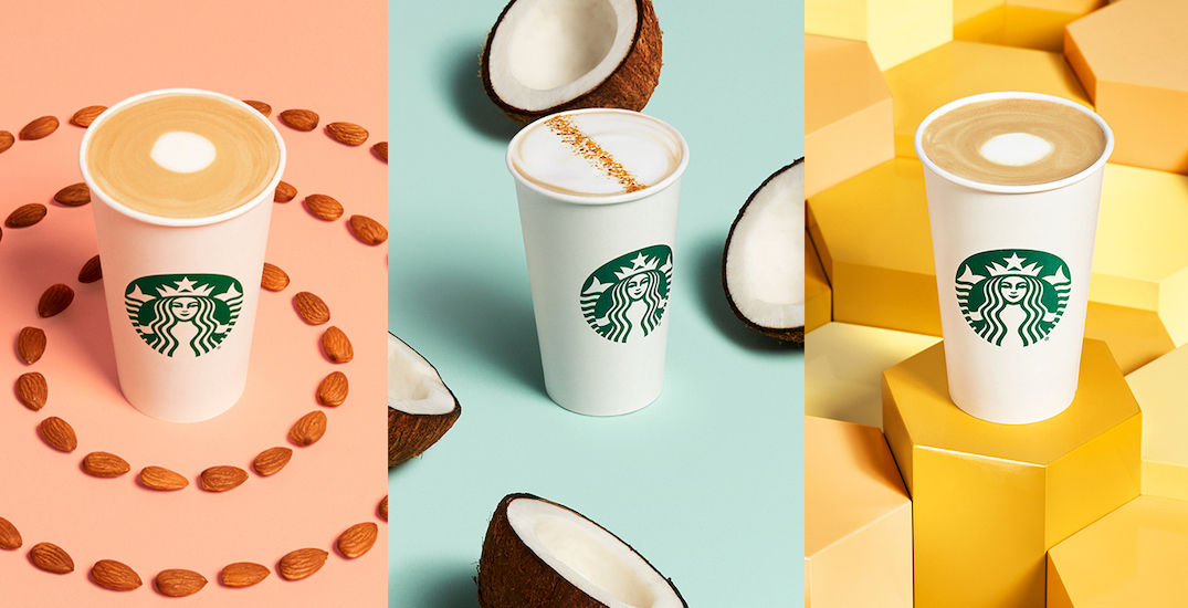 Starbucks just dropped new non-dairy drink options