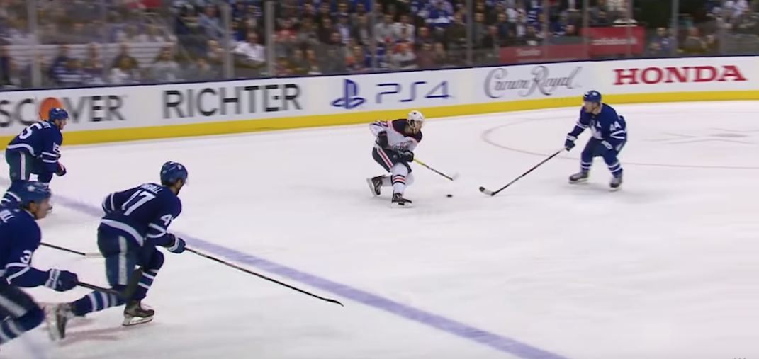 Fans react to McDavid's amazing highlight-reel goal against the Leafs