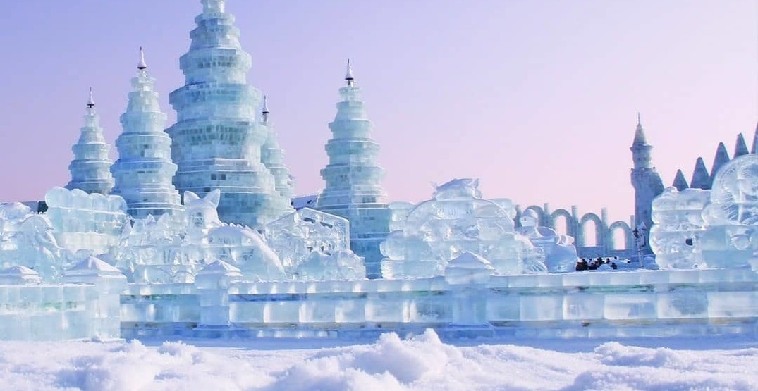 The world's largest snow and ice festival is happening in China right now (PHOTOS)