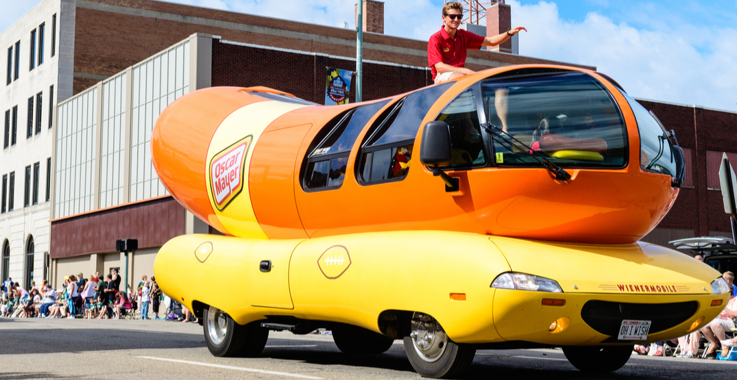 You can get paid to journey across the US in Oscar Mayer's Wienermobile