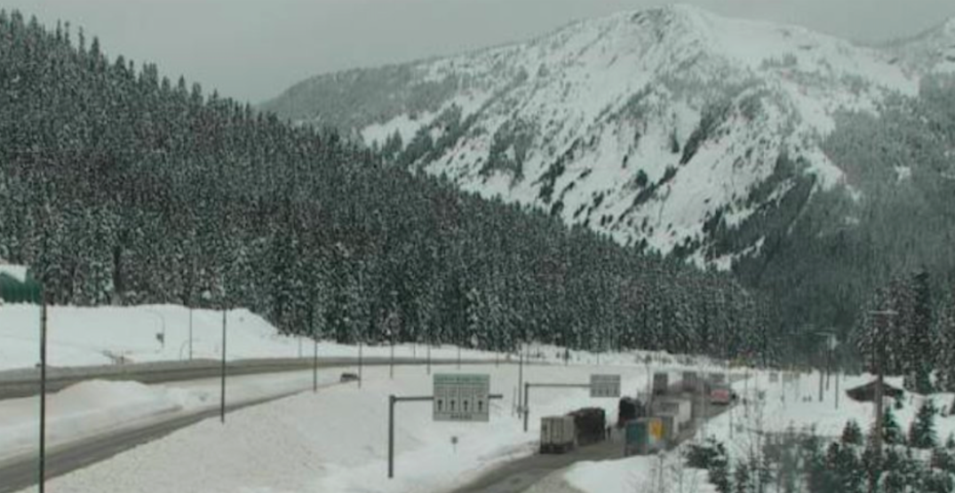 Coquihalla Highway to be completely closed for hours today for avalanche control