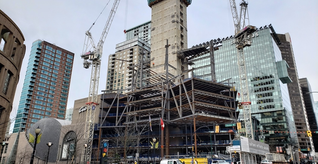New downtown Vancouver office tower for Apple and Deloitte on the rise (PHOTOS)