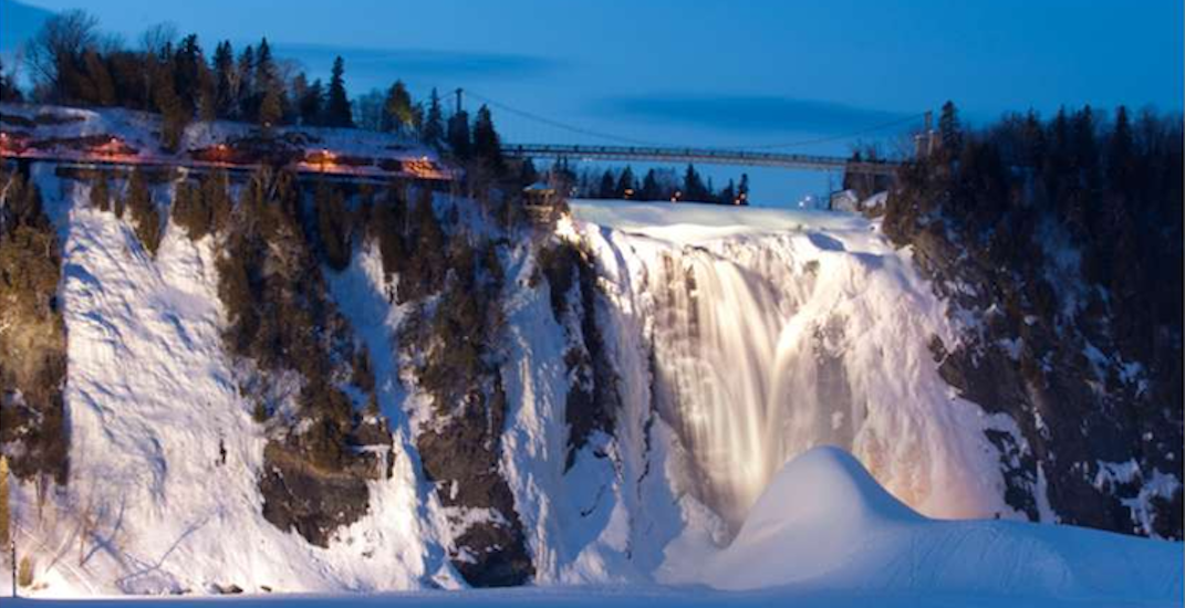 This giant waterfall in Quebec City has frozen (PHOTOS)