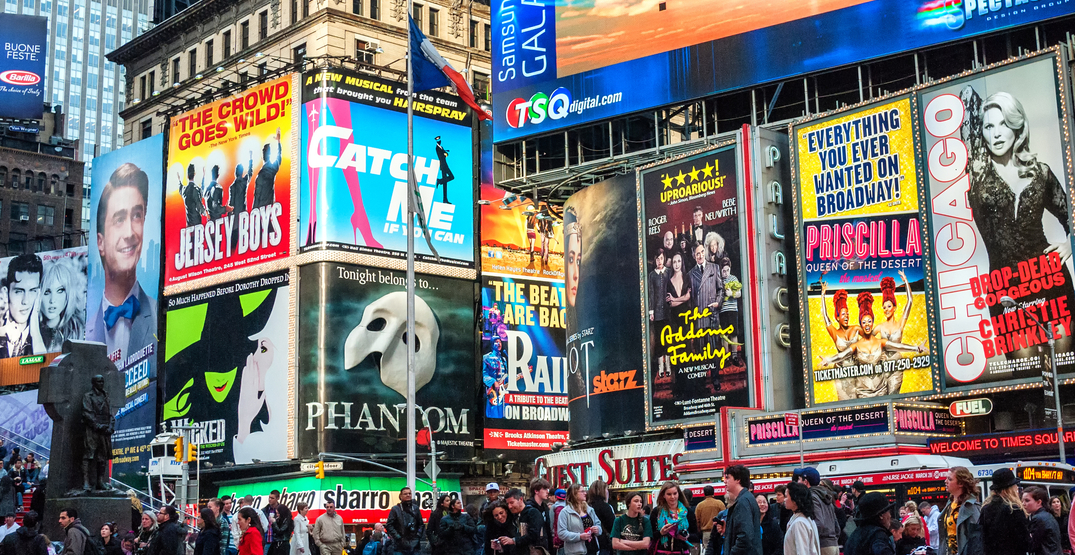 NYC's Broadway is offering 2 for 1 tickets for some of its most popular shows this month