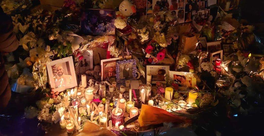 Toronto held moving candlelight vigil for Iran plane crash victims (PHOTOS)