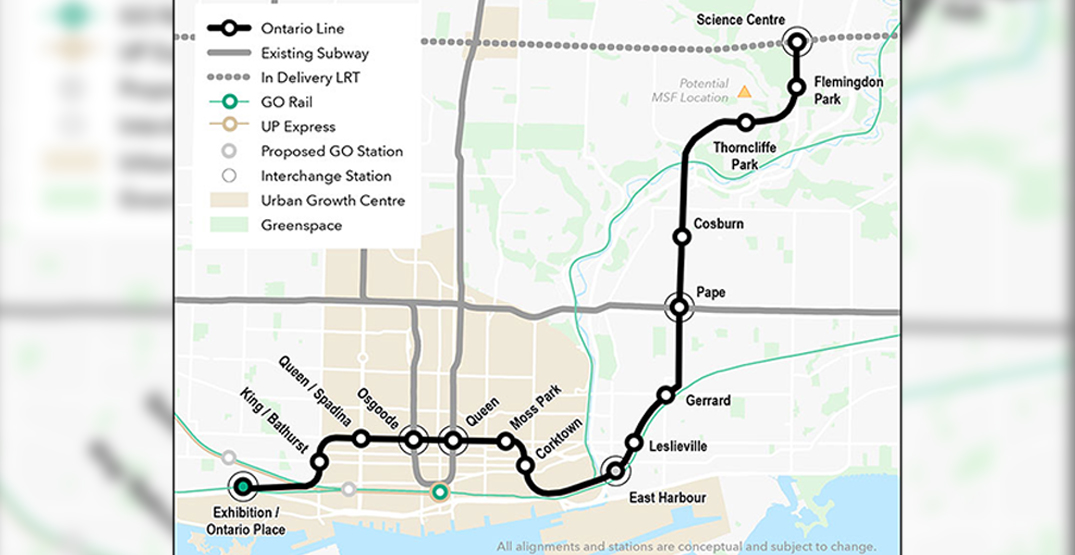 Metrolinx hosting open houses about the Ontario Line this week