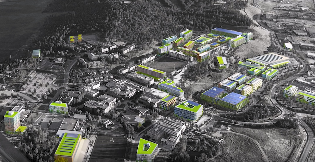 UBC Okanagan campus in Kelowna to double in size over 20 years