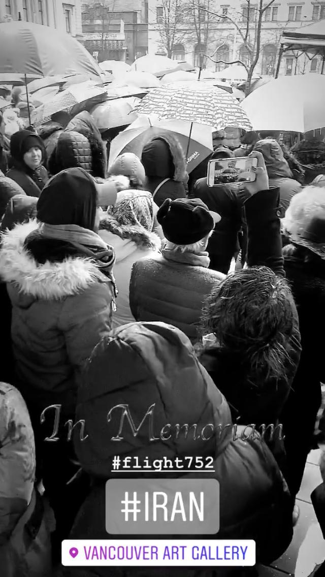 Vancouver Iran memorial