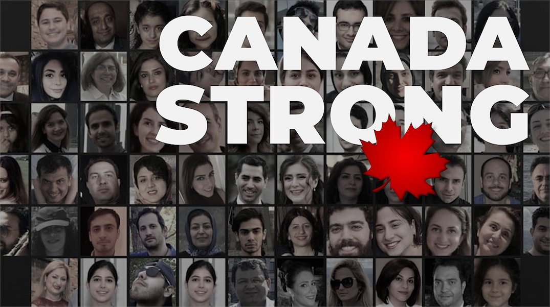 """Canada Strong"" fundraiser launched for families of Iran plane crash victims"