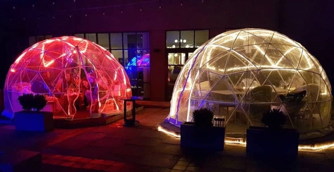 You can dine inside a cozy igloo patio right now in Toronto (PHOTOS)