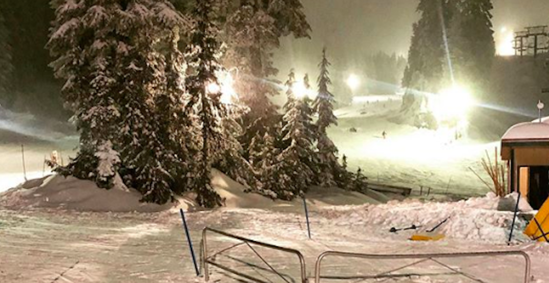 Car accident leaves visitors stranded on Mt. Seymour for hours