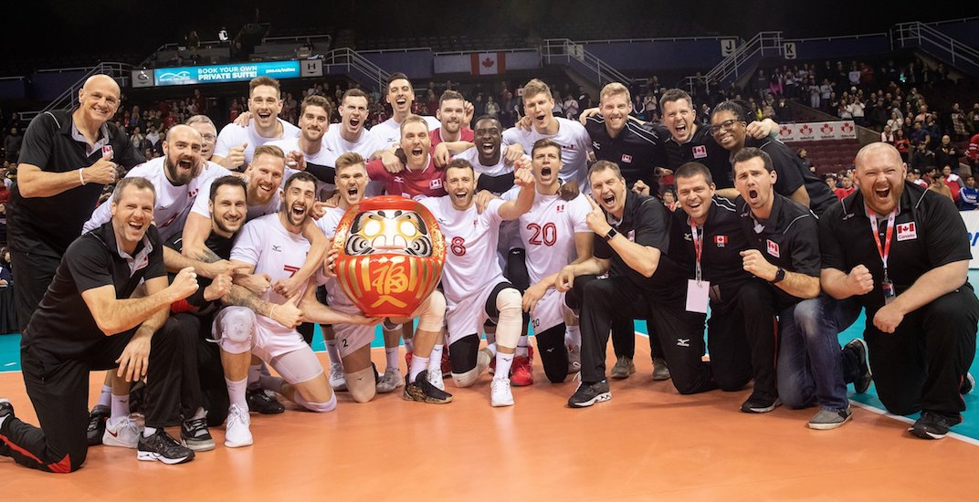 Canada qualifies for Tokyo 2020 Olympics in men's volleyball