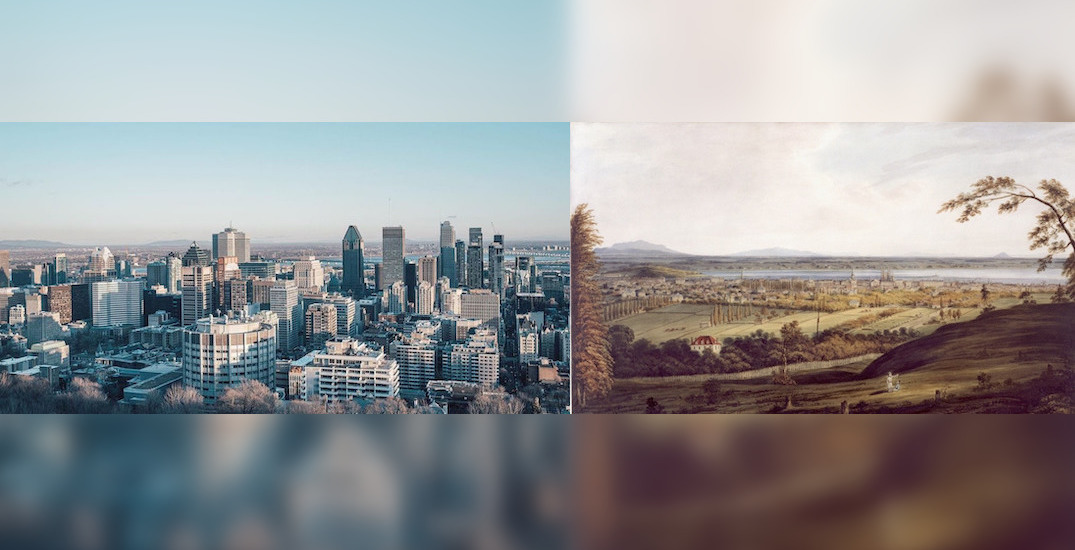 Artist uses photo montage to show how Montreal has changed since 1832 (VIDEO)