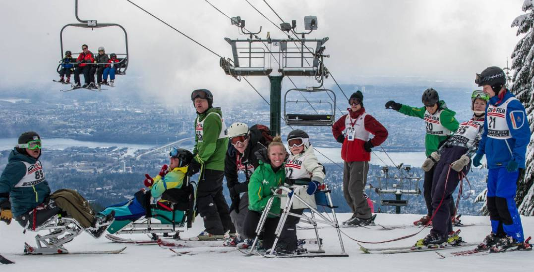 This organization is helping people with a disability shred on the slopes