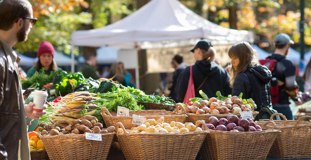 Catch a chef demonstration at the Portland State University farmers' market