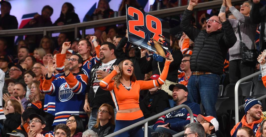 Oilers fans respond to Tkachuk billboard by donating to a Calgary charity
