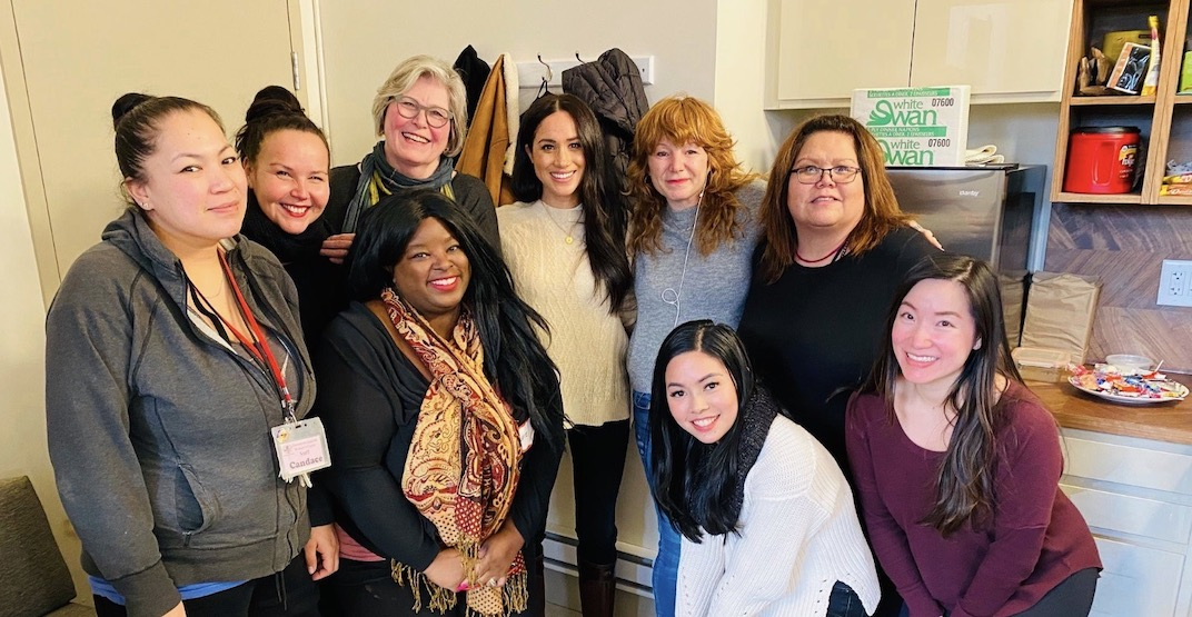 Meghan Markle was spotted in Vancouver's Downtown Eastside today