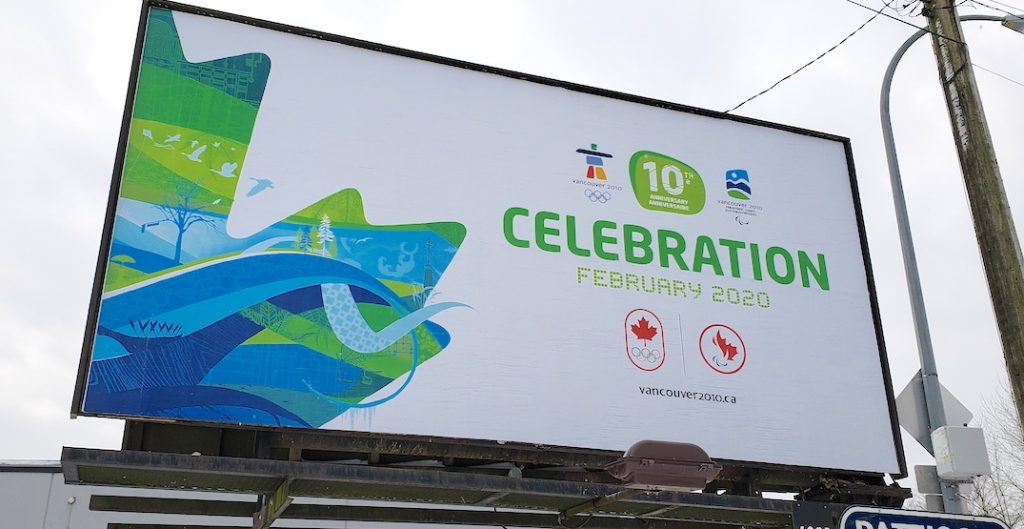 vancouver 2010 olympic anniversary poster f
