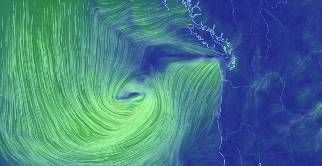 Hurricane Force Wind Warning issued for Howe Sound